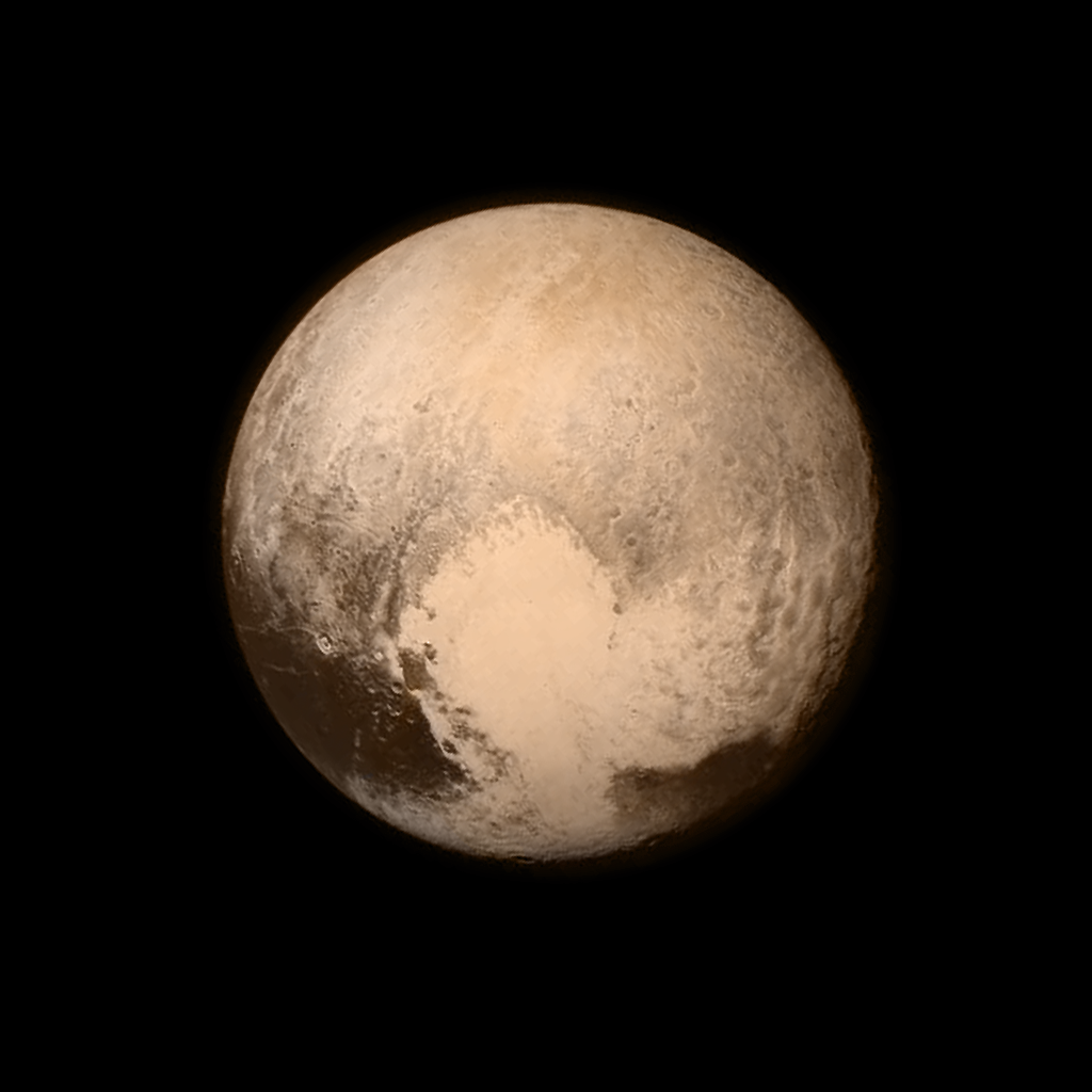 The Final Frontier: A First High Resolution Glimpse of Pluto